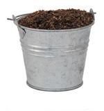 Bucket of soil